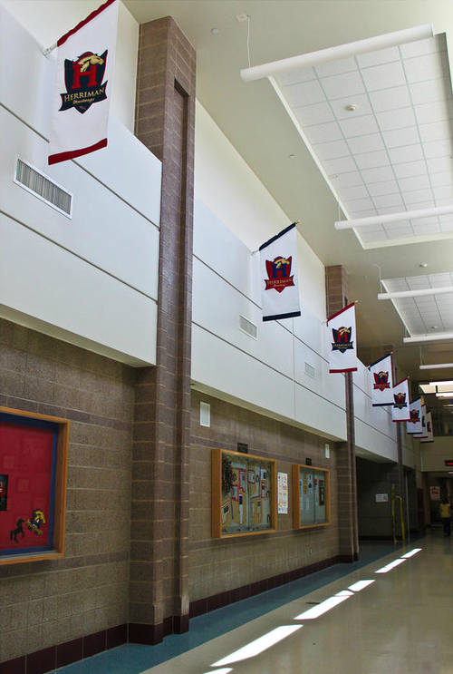 Herriman High School Halls